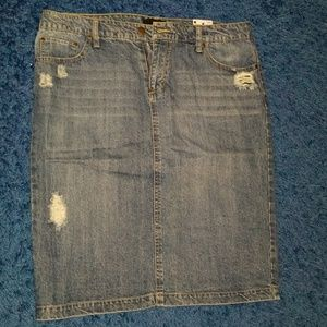 *NWT Attention jean skirt